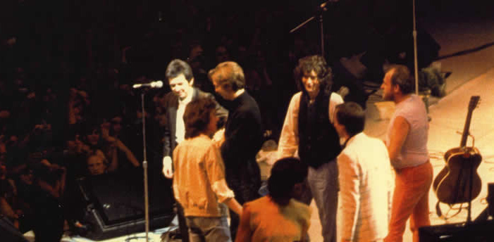 Arms stage Ronnie Lane